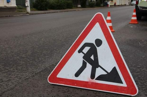 В Ижевске начали ямочный ремонт