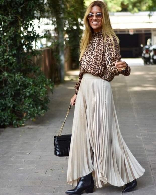 Как осенью выглядеть стильно в юбке: какую юбку выбрать, с чем носить
