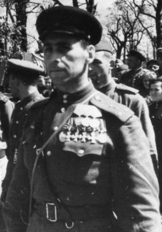 Награды капитана Грусланова