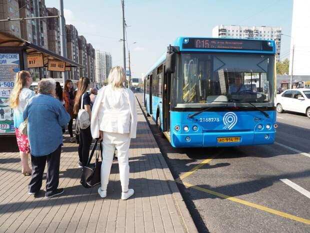 Автобус С15 в проезде Шокальского будет ходить чаще