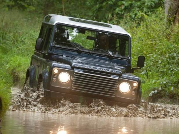 Спецверсия от SVO станет последней для Land Rover Defender