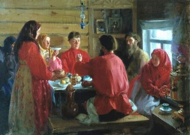 Глава семьи на Руси должен был находить время на всех. /Фото: avatars.mds.yandex.net