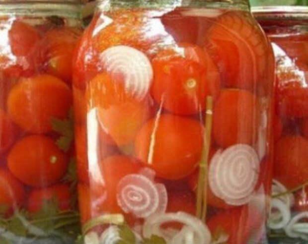 Маринованные помидоры на зиму в банках — рецепты