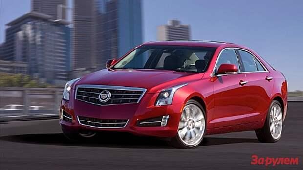 Cadillac ATS в Детройте назвали автомобилем года