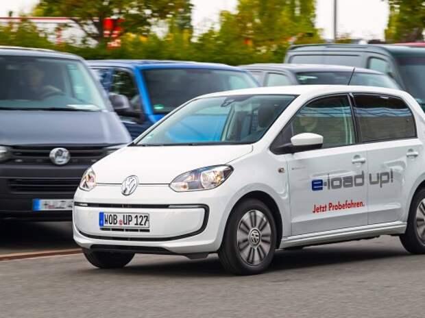 Тест Volkswagen e-Load Up! Прибыль – в нагрузку