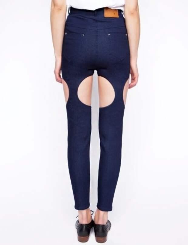Чулки или джинсы?