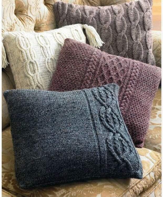 Красивые и стильные подушки