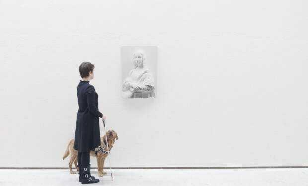 Картины превращаются в скульптуры, или как слабовидящим познать искусство живописи