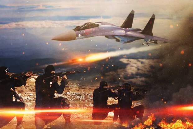 ВКС РФ за 24 часа нанесли более 40 ударов по террористам в Сирии