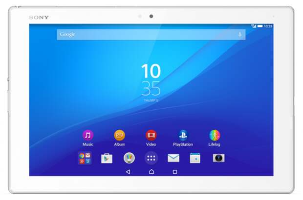 Sony назвала рублёвую цену самого тонкого и лёгкого 10-дюймового планшета