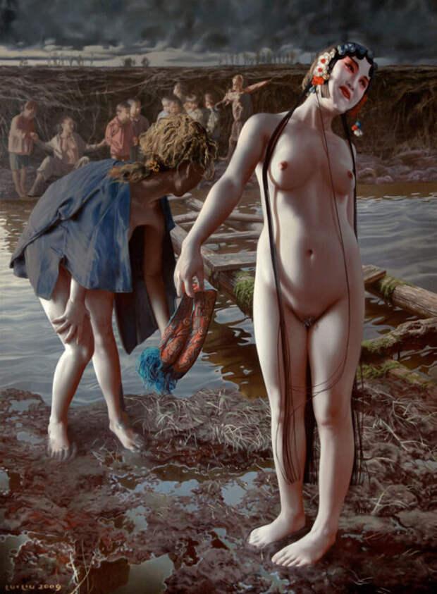 Художник-сюрреалист Луй Люиего эротические фантазии натему женского тела