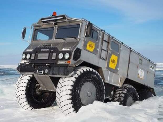 Российский супервездеход Бурлак идет на рекорд с опережением графика