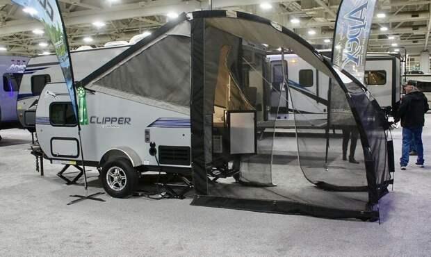 1. Coachmen Clipper Express 9.0TD авто, дома на колесах, кемпинг, отдых, прицепы, трейлер, трейлеры, фото