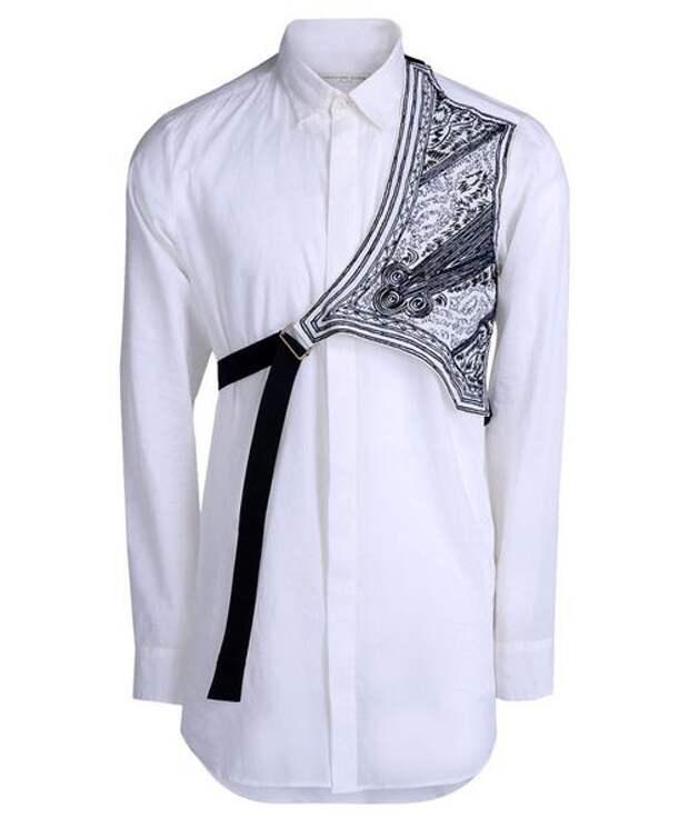 Рубашка с полукокеткой