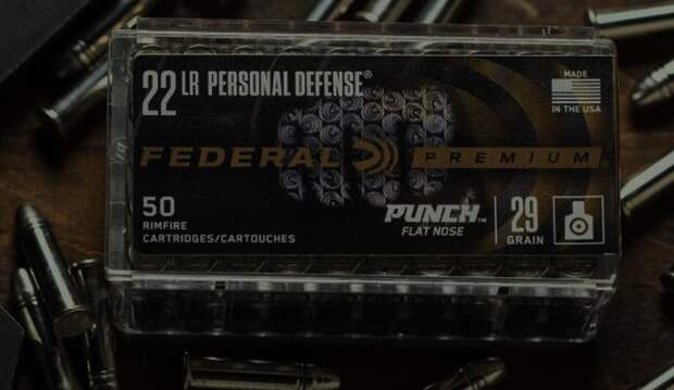 Little self defence - Federal Punch Rimfire 22 LR ammo