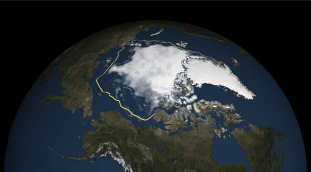 Температура в Арктике растёт угрожающими темпами