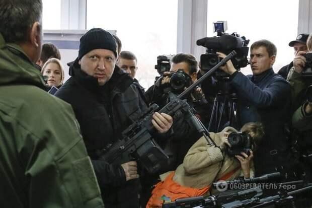 """Турчинов пообещал Кремлю """"бурю"""", если Россия не уберется из Крыма и Донбасса"""