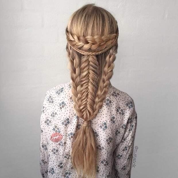 Сложная коса