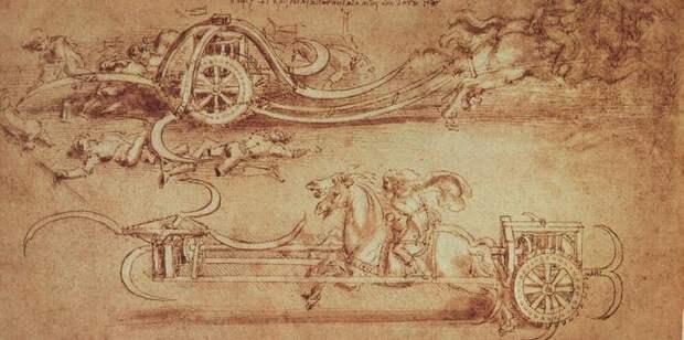 Мона Лиза и пулеметы: хотел ли Леонардо да Винчи войны?