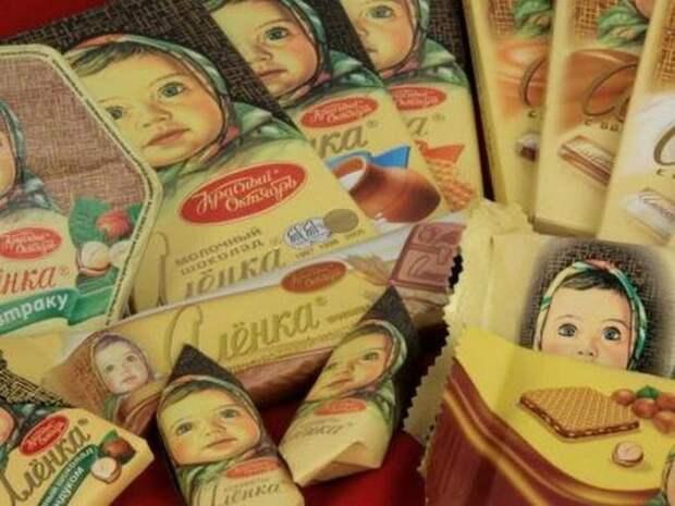 Самая известная Алёнка, или История девочки с шоколадной обертки