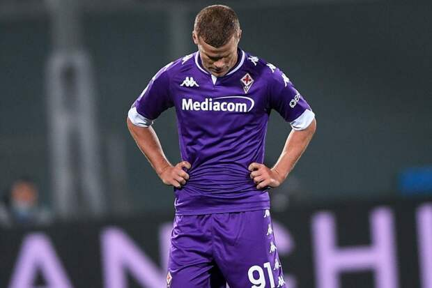 Кокорин пропустил 9 матчей «Фиорентины» из-за травмы, сегодня он возобновил занятия в общей группе