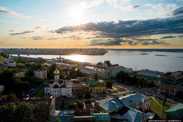 Нижний Новгород с высоты