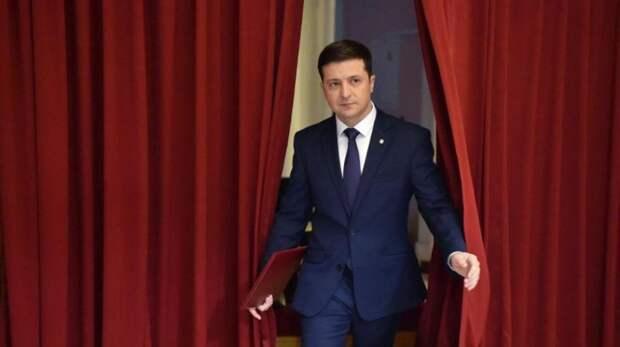 Еврей Зеленский добивает жалкие остатки независимости Украины