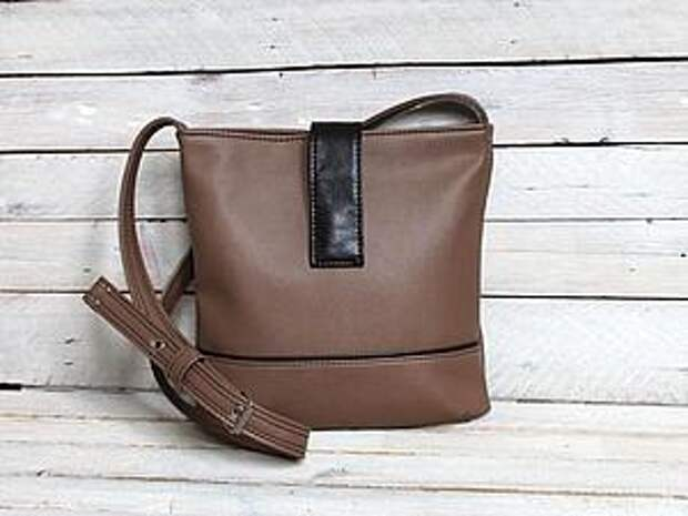 Небольшая сумочка. МК | Ярмарка Мастеров - ручная работа, handmade