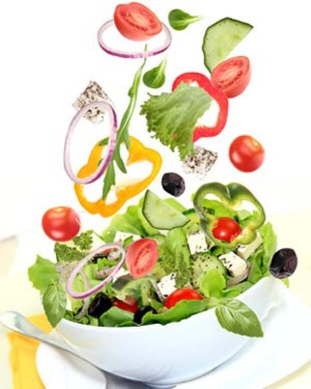 Постные салаты в вашем доме: советы и рецепты для вегетарианцев