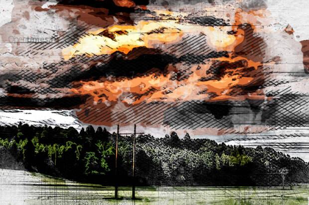 На Орловщину с востока придёт порывистый ветер и дожди