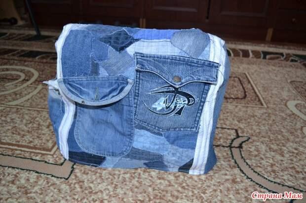 Старые джинсы - новые идеи!