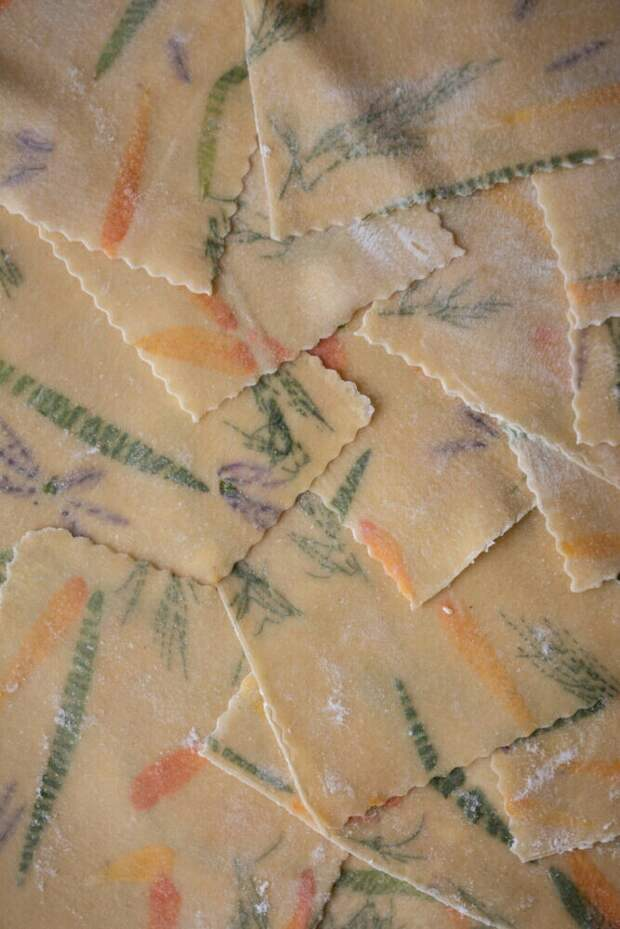 Атмосферная паста лингвини (diy)