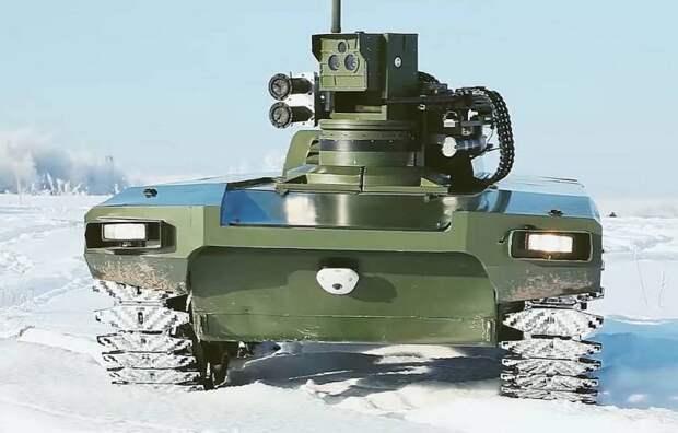 Управление голосом: Россия опередила американцев в создании боевых роботов