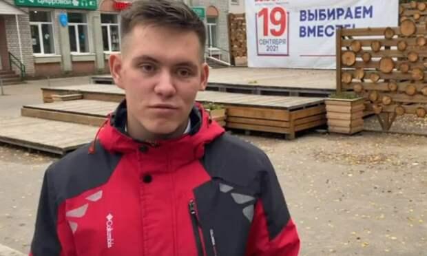 После школы— сразу навыборы: молодёжь Поморья голосует забудущее страны