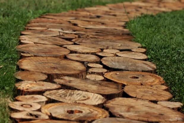 Деревянная дорожка. | Фото: Pinterest.