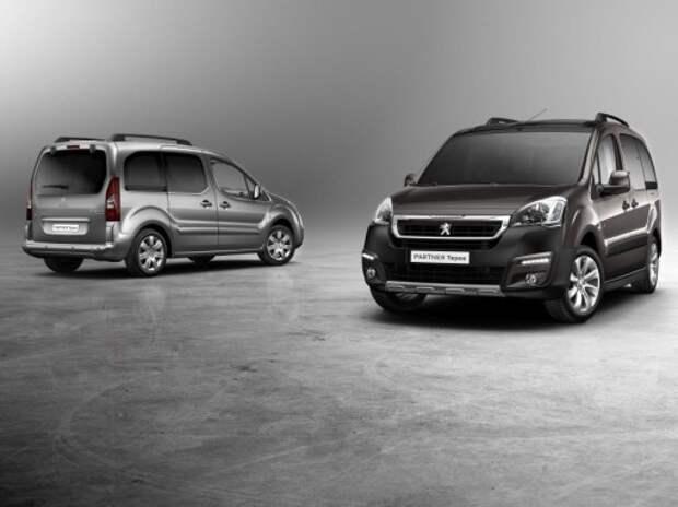 Обновленные Peugeot Partner и Peugeot Partner Tepee покажут в Женеве