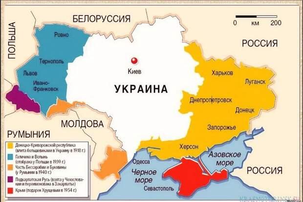 Укро-историк обвинил Россию в двукратном уменьшении населения Украины