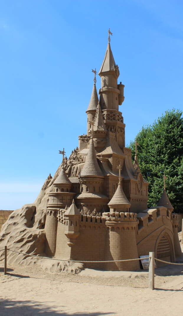 Фестиваль песчаных скульптур - 2021 в Санкт-Петербурге