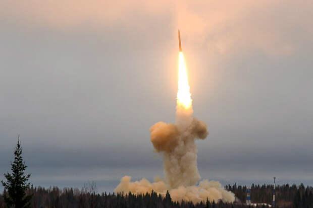 Запуск Тополь-М: чистая мощь на видео