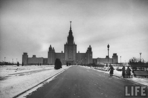 Московский государственный университет  в 1956 году