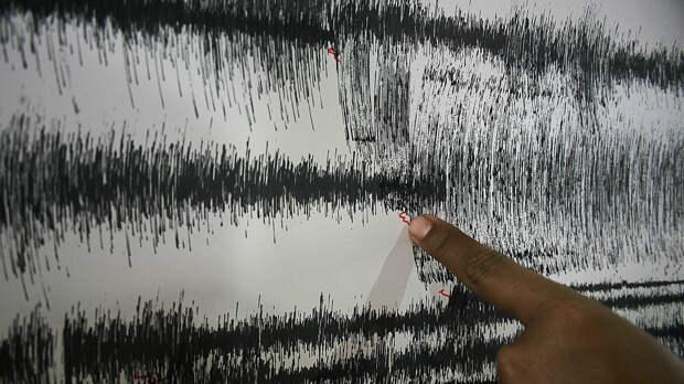 Сейсмологи зафиксировали землетрясение магнитудой 4,2 на Сахалине