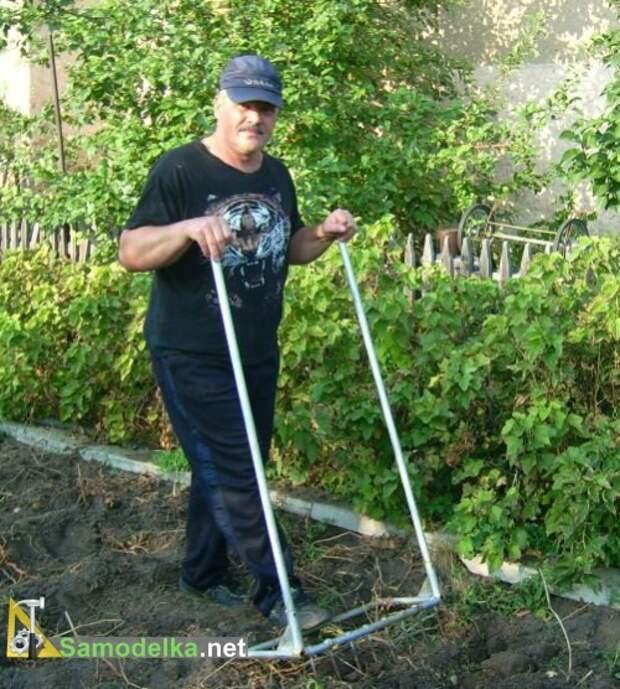 САМОДЕЛКИ.  Лопата для ленивых своими руками