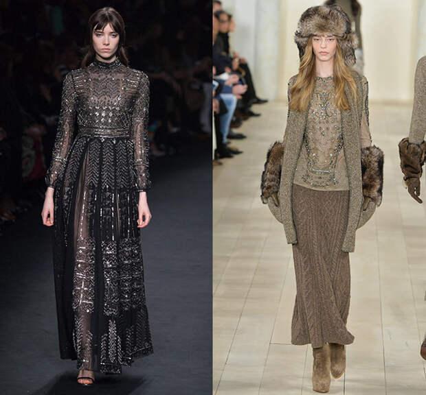 Слева — Valentino, справа — Ralph Lauren