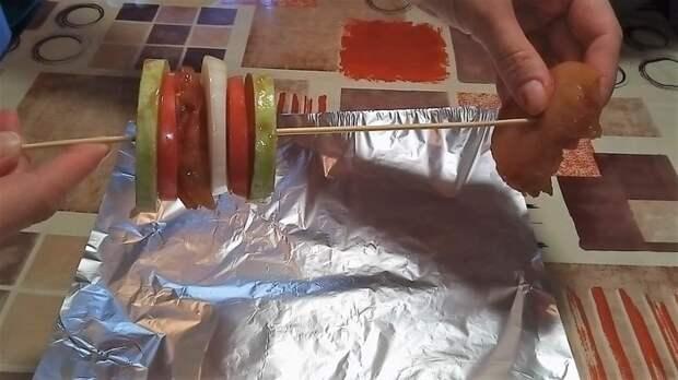 Овощи запеченные с куриным филе в духовке. Овощи, Видео рецепт, Рецепт, Еда, Кулинария, Видео, Длиннопост, Запекание