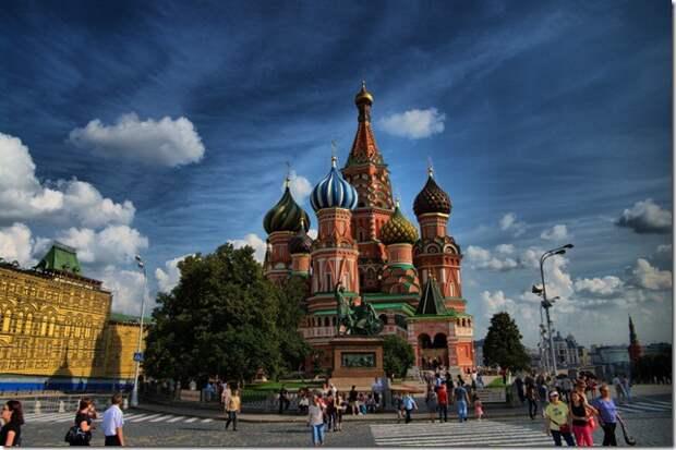 Собор Василия Блаженного(Москва) Чудеса России, природа, сооружения