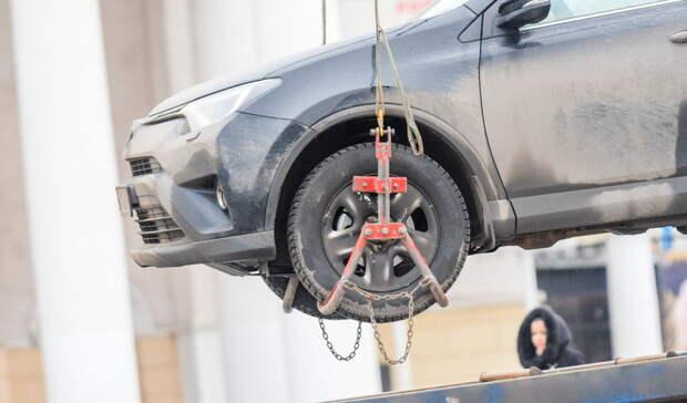 Планируется эвакуация авто вцентре Екатеринбурга из-за уборги снега
