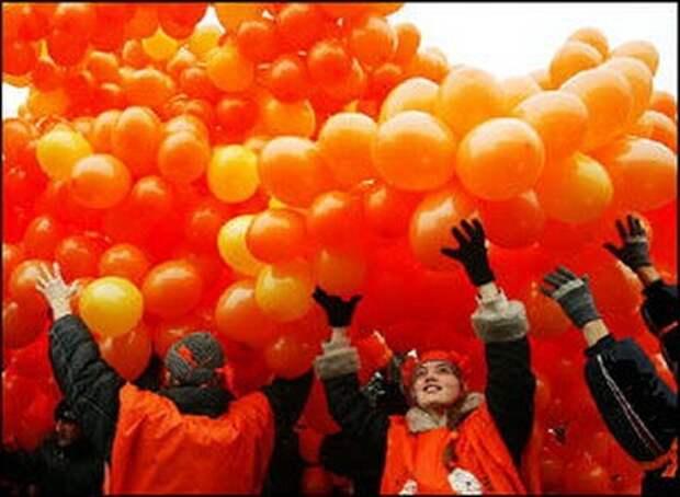 Сценарий оранжевой революции в России кукловоды уже расписали