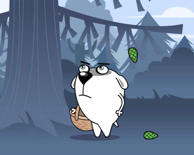 «Красный куб» выпустил флеш-мультфильмы про жадную собаку