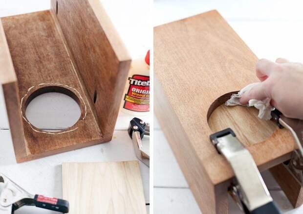Как сделать деревянный столик