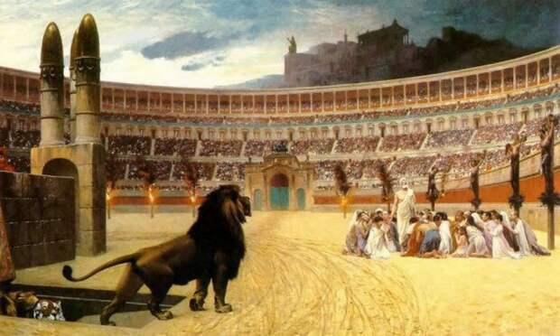 10 сумасшедших развлечений, которыми древние римляне наслаждались в Колизее